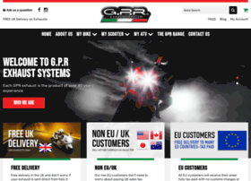 gpr-motorcycle-exhausts.co.uk