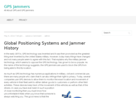 gpsjammers.org