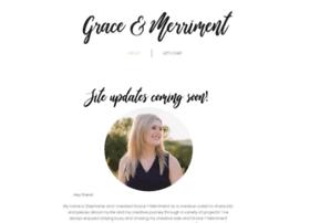 graceandmerriment.com