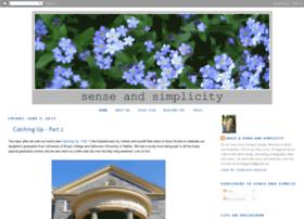 gracie-senseandsimplicity.blogspot.com