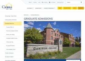 grad.canisius.edu