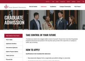 grad.sju.edu