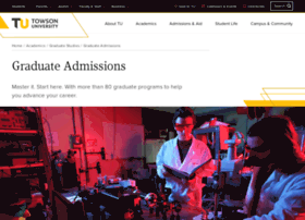 grad.towson.edu