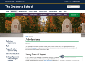 gradconnect.nd.edu