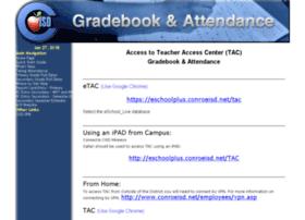 gradebook.conroeisd.net
