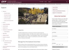 gradschool.eku.edu