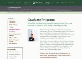gradschool.marlboro.edu