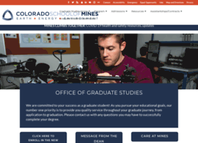 gradschool.mines.edu