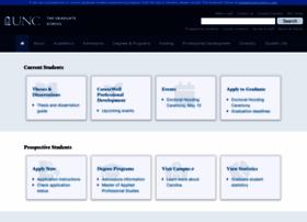gradschool.unc.edu