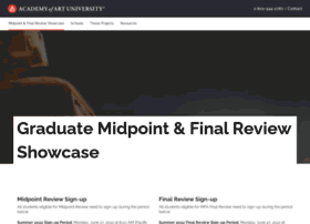 gradshowcase.academyart.edu