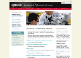 gradstudy.rutgers.edu