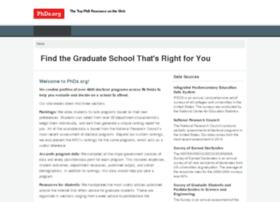 graduate-school.phds.org