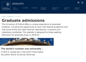graduate.ox.ac.uk