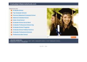 graduateprofessionalschools.com
