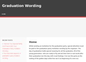 graduationwording.info