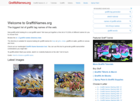 graffitinames.org
