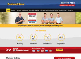 grahamandsonsplumbing.com.au