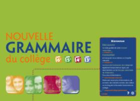 grammaire-college.fr