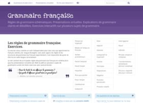 grammairefrancaise.org