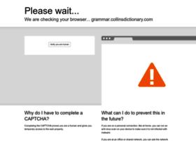 grammar.collinsdictionary.com