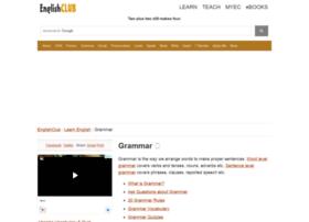 grammar.englishclub.com