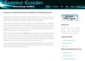 grammarcrusader.com