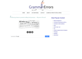 grammarerrors.com