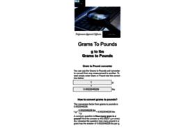 grams-to-pounds.appspot.com