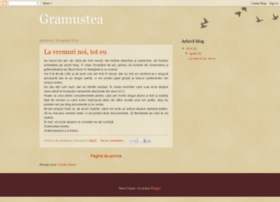gramusteanul.blogspot.com