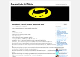 granadacoder.wordpress.com