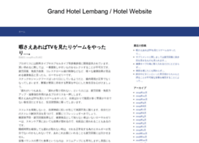 grandhotellembang.com