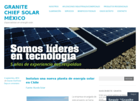 granitechiefsolarmexico.wordpress.com