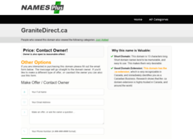 granitedirect.ca