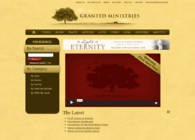 grantedministries.org