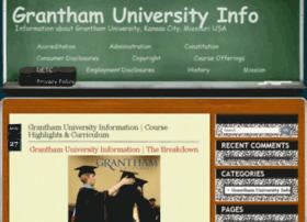 granthamuniversity.info