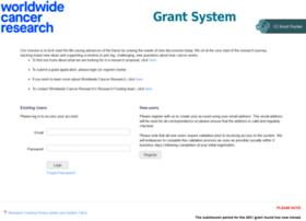grants.worldwidecancerresearch.org