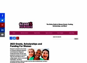 grantsforwomen.org