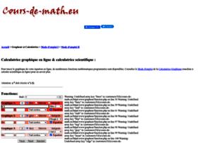 grapheur.cours-de-math.eu