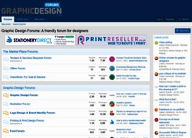graphicdesignforums.co.uk