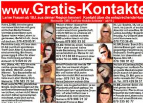 gratis-kontakte.ch