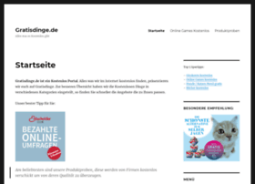 gratisdinge.de