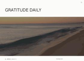 gratitude-daily.com
