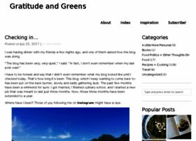 gratitudeandgreens.com