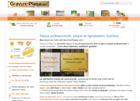 gravure-plaque.com