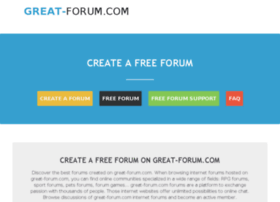 great-forum.com