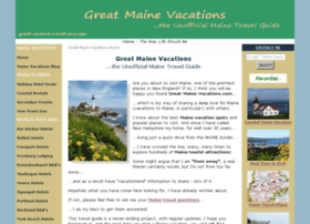 great-maine-vacations.com