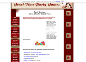 great-time-party-games.com