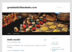 greatbalivillasdeals.com