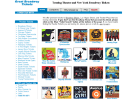 greatbroadwaytickets.com