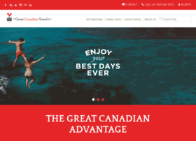 greatcanadiantravel.com